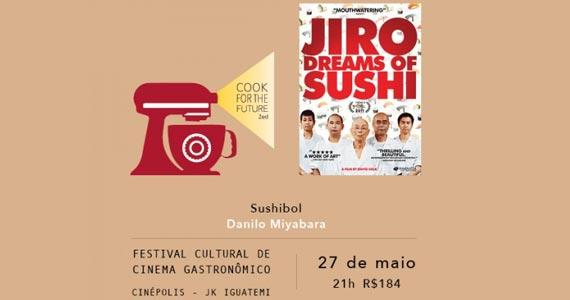 Cook for the Future - Filme Jiro Dreams of Sushi- SushiBol Eventos BaresSP 570x300 imagem