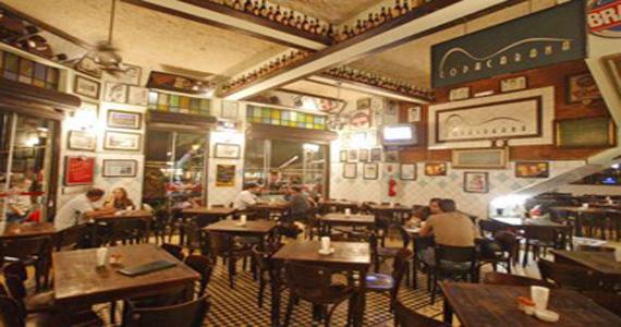 Petiscos variados e cerveja gelada no happy hour desta segunda-feira no Copacabana Bar Eventos BaresSP 570x300 imagem
