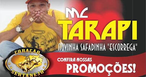 MC Tarapi agita a noite de quarta-feira no Coração Sertanejo Eventos BaresSP 570x300 imagem