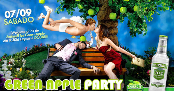 Festa Green Apple Party anima o sábado de feriado com duplas sertanejas no Country Beer Eventos BaresSP 570x300 imagem