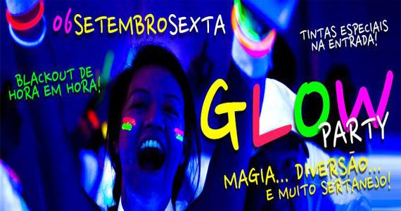 Festa Glow Party agita a noite desta sexta-feira no Country Beer Eventos BaresSP 570x300 imagem