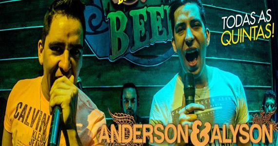 Coutry Beer recebe Anderson Alyson e outras duplas sertanejas nesta quinta-feira Eventos BaresSP 570x300 imagem