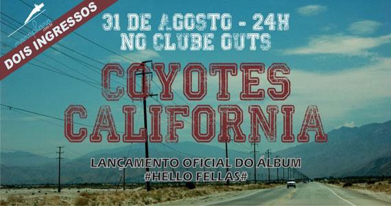Garage no Clube Outs com Coyotes California Eventos BaresSP 570x300 imagem
