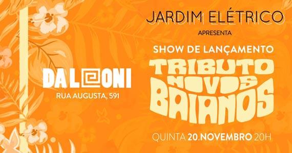 Tributo Aos Novos Baianos com shows especiais no Da Leoni Bar Eventos BaresSP 570x300 imagem