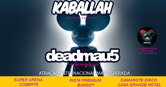 O maior festival de música eletrônica do litoral com Deadmau 5 acontece na Arena Verão Show Eventos BaresSP 570x300 imagem