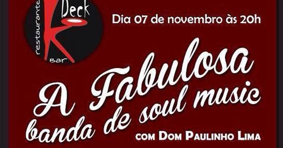 Deck Bar recebe banda A Fabulosa com participação de Dom Paulinho Lima e convidados Eventos BaresSP 570x300 imagem