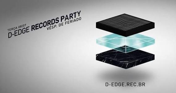 D Edge Records Party nessa véspera de feriado com lançamento da compilação V.A. 001 Eventos BaresSP 570x300 imagem