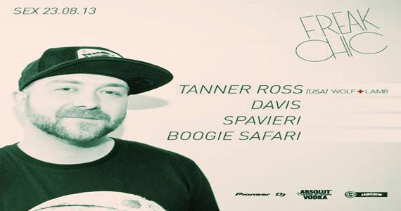 Festa Freak Chic recebe DJ Tanner Ross para agitar a noite desta sexta-feira Eventos BaresSP 570x300 imagem