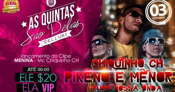 Delluri agita quinta-feira com o lançamento do clipe de MC Chiquinho CH Eventos BaresSP 570x300 imagem