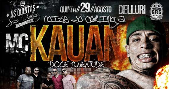 Delluri agita a quinta-feira com MC Kauan e Grupo Doce Juventude Eventos BaresSP 570x300 imagem