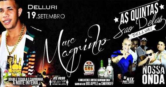 Delluri tem pagode e funk com o Mano Magrinho e Nossa Onda nesta quinta-feira Eventos BaresSP 570x300 imagem