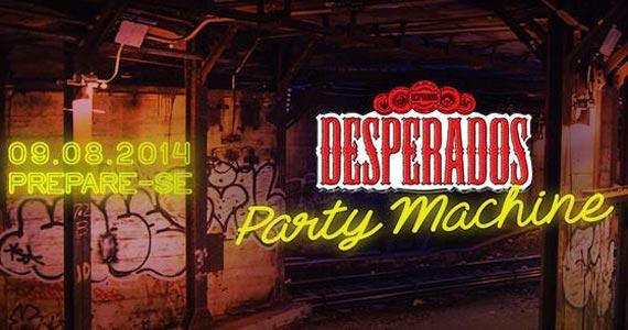 Desperados Party Machine reúne três festas da noite paulistana com diversas atrações Eventos BaresSP 570x300 imagem