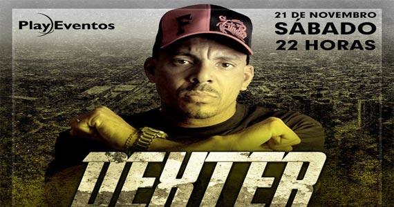 Rapper Dexter anima o palco da Imperial Club no sábado Eventos BaresSP 570x300 imagem