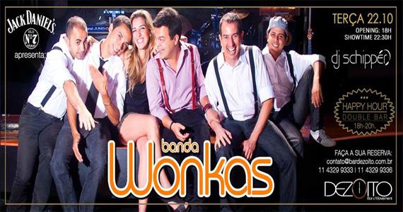 Banda Wonkas e DJ Schippér embalam a noite de terça-feira no Dezoito Bar Eventos BaresSP 570x300 imagem