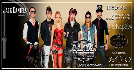 Banda Viva Noite agita a terça-feira com muita música no Dezoito Bar Eventos BaresSP 570x300 imagem
