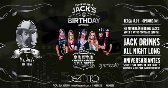 Dezoito Bar recebe a Banda Viva Noite para agitar a terça-feira Eventos BaresSP 570x300 imagem