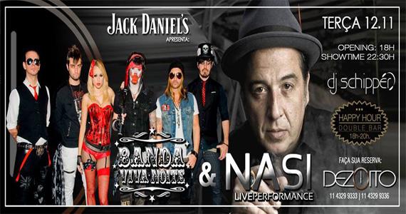 Banda Viva Noite e Nasi esquentam a noite com muita música no Dezoito Bar  Eventos BaresSP 570x300 imagem