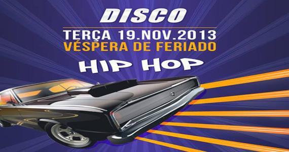 Véspera de feriado com muito hip hop com os DJs Milk, Meyer e Jam Jam no Club Disco Eventos BaresSP 570x300 imagem
