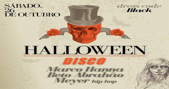 Noite do Halloween com DJs convidados agitando a noite no Club Disco Eventos BaresSP 570x300 imagem