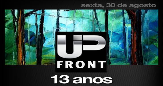 Club Disco recebe a festa Up Front 13 anos para agitar a sexta-feira Eventos BaresSP 570x300 imagem