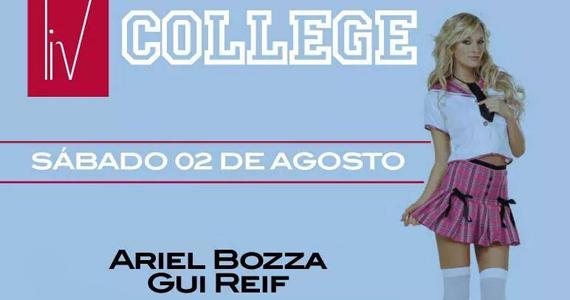 Club Disco recebe a festa College com line-up especial no sábado Eventos BaresSP 570x300 imagem