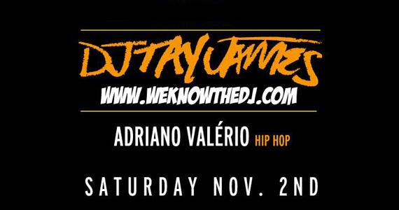 DJ Tay James e Adriano Valério comandam as pick-ups neste sábado na Club Disco Eventos BaresSP 570x300 imagem