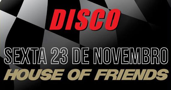 DJs Magui e Gui Ferraz tocam na festa House of Friends do Club Disco Eventos BaresSP 570x300 imagem