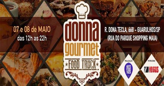 Donna Gourmet Food Truck Festival tem mais de 60 opções de comidas em Guarulhos Eventos BaresSP 570x300 imagem