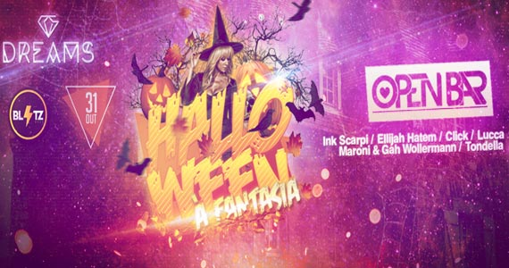 Blitz Haus promove Festa Dreams- Edição Halloween animando o sábado Eventos BaresSP 570x300 imagem