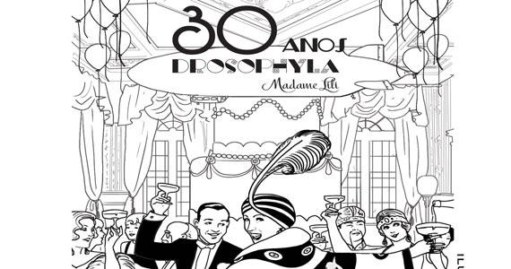 Drosophyla Bar comemora 30 anos com festa na terça Eventos BaresSP 570x300 imagem