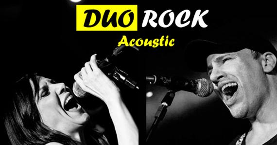 Duo Rock Acoustic com Claudia França e Ricardo Guerra no Café Piu Piu  Eventos BaresSP 570x300 imagem
