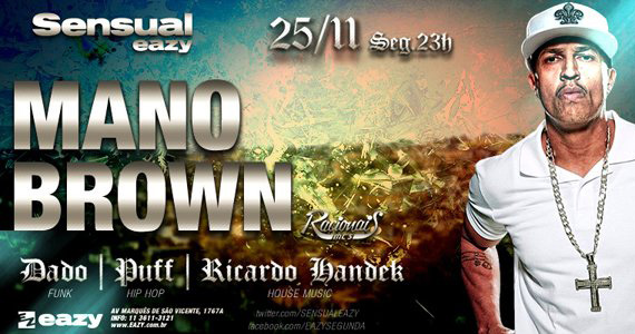 Mano Brown é a atração principal dessa segunda-feira na Eazy Eventos BaresSP 570x300 imagem