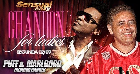 Eazy tem noite Chandon For Ladies nesta segunda-feira com DJ Marlboro Eventos BaresSP 570x300 imagem