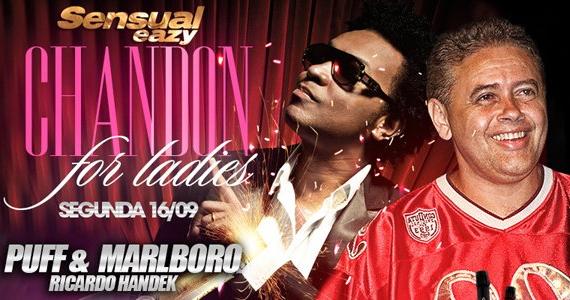 Eazy tem festa Chandon For Ladies com DJ Marlboro e Puff nesta segunda Eventos BaresSP 570x300 imagem