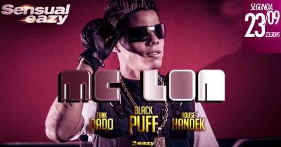 Eazy tem festa Sensual com a participação do MC Lon nesta segunda-feira Eventos BaresSP 570x300 imagem