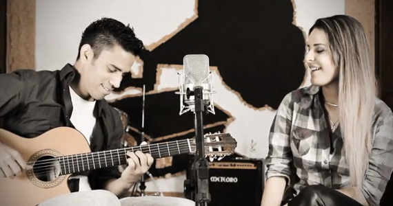 Eder Miguel e Fabiana Belz cantam juntos na Lanterna na terça-feira Eventos BaresSP 570x300 imagem