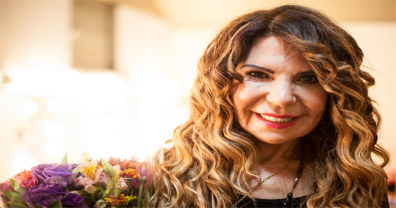 Elba Ramalho agita a noite e coloca o público pra dançar no Canto da Ema nesta quarta-feira Eventos BaresSP 570x300 imagem
