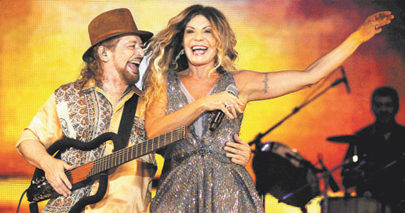 Elba Ramalho e Geraldo Azevedo se apresentam juntos no palco do Espaço das Américas Eventos BaresSP 570x300 imagem