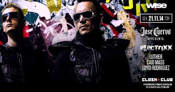Jose Cuervo apresenta Electrixx com convidados especiais na Clash Club Eventos BaresSP 570x300 imagem