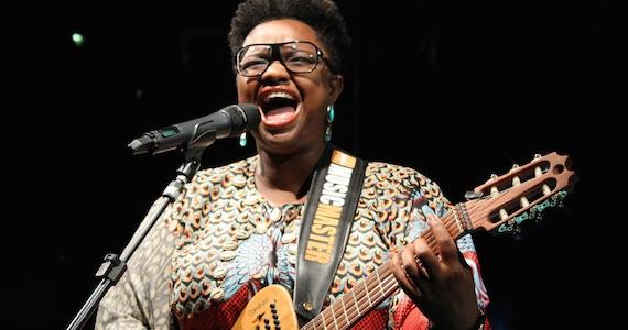 Ellen Oléria faz show do disco Afrofuturista no Teatro do Sesc Vila Mariana Eventos BaresSP 570x300 imagem