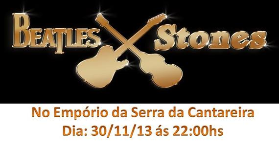 Banda Beatles x Stones comanda o sábado do Empório da Serra com muita música Eventos BaresSP 570x300 imagem