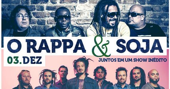 O Rappa & SOJA juntos em um show inédito no Espaço das Américas Eventos BaresSP 570x300 imagem