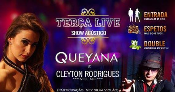 Espetaria Mada promove show de Queyana e Cleyton Rodrigues na Terça Livre Eventos BaresSP 570x300 imagem