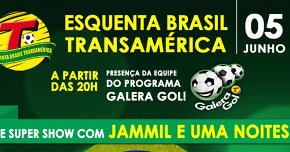 Bar Brahma Aeroclube recebe Jammil e Uma Noites no Esquenta Brasil Transamérica Eventos BaresSP 570x300 imagem