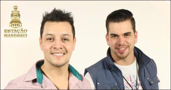 Sextaneja com as duplas Rudi & Rodrigo e Gustavo Vaz & Luciano no Estação Mandaqui  Eventos BaresSP 570x300 imagem