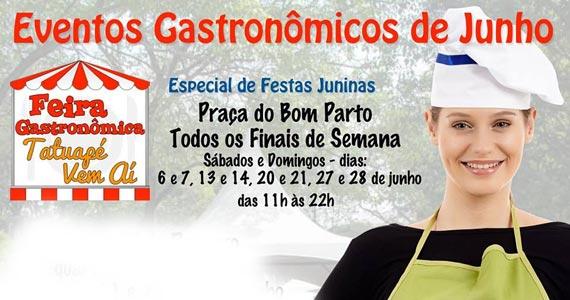 Feira Gastronômica Tatuapé Vem Aí na Praça do Bom Parto Eventos BaresSP 570x300 imagem