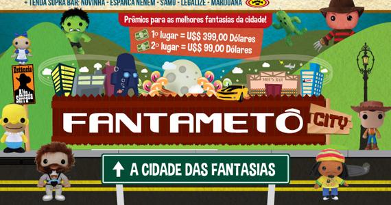 Festa a fantasia FantaMetô acontece nesta sexta no Estância Alto da Serra Eventos BaresSP 570x300 imagem