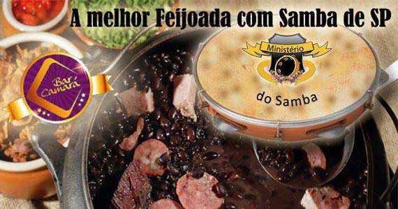 Bar Camará oferece feijoada com o grupo Ministério do Samba no Sábado Eventos BaresSP 570x300 imagem
