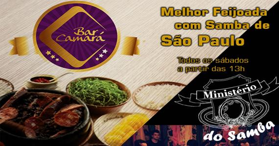 Bar Camará oferece a melhor feijoada com samba de São Paulo aos sábados Eventos BaresSP 570x300 imagem