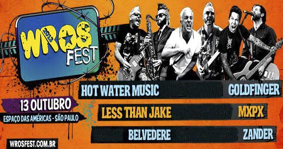 Bandas renomadas como Goldfinger e MxPx fecham último dia do Wros Fest no Espaço das Américas Eventos BaresSP 570x300 imagem